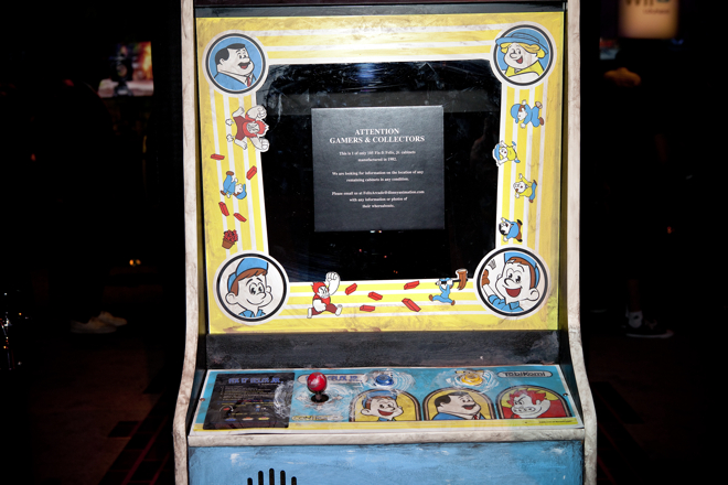 Disney Wreck it Ralph Fake Arcade Game Screen