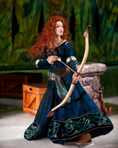"BRAVE Princess Merida to Appear in Disney On Ice ""Rockin' Ever After"""