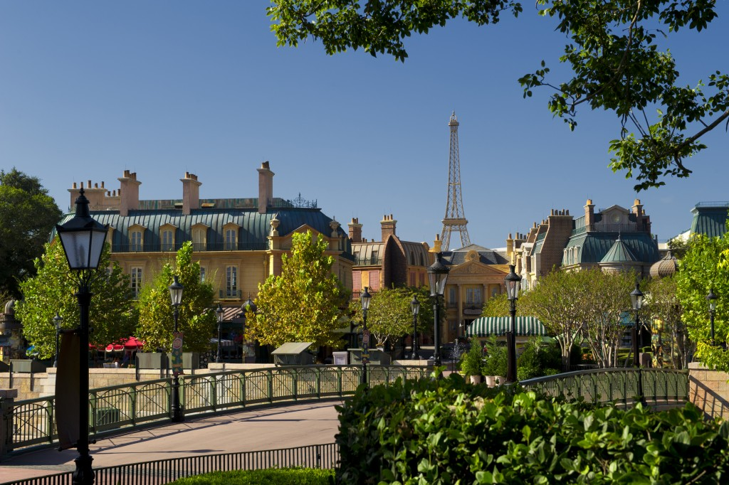 France Pavilion Celebrates Bastille Day Epcot