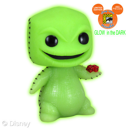 Glow-in-the-Dark 3 Oogie Boogie POP!