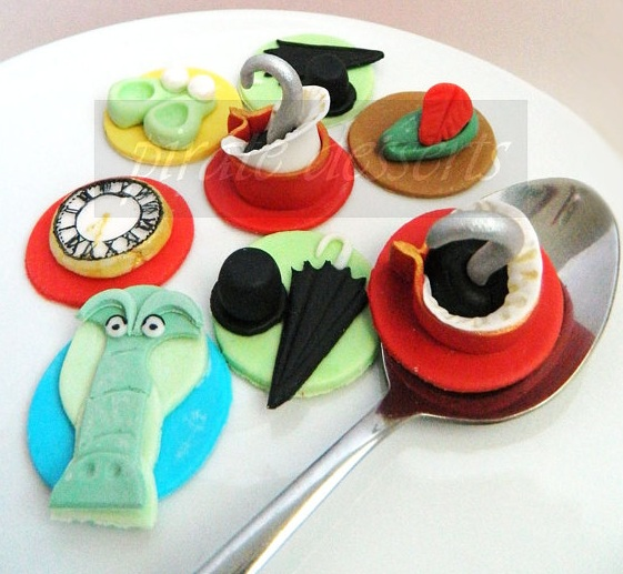 Peter Pan Disney Cupcake Toppers