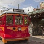 Red Car Trolley Disney California Adventure Buena Vista Street