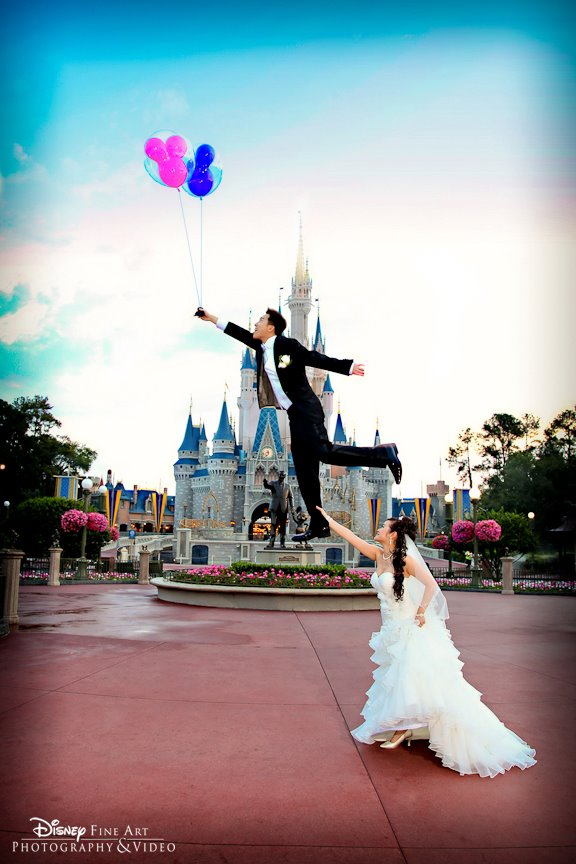 Runaway Groom at Disney's Magic Kingdom