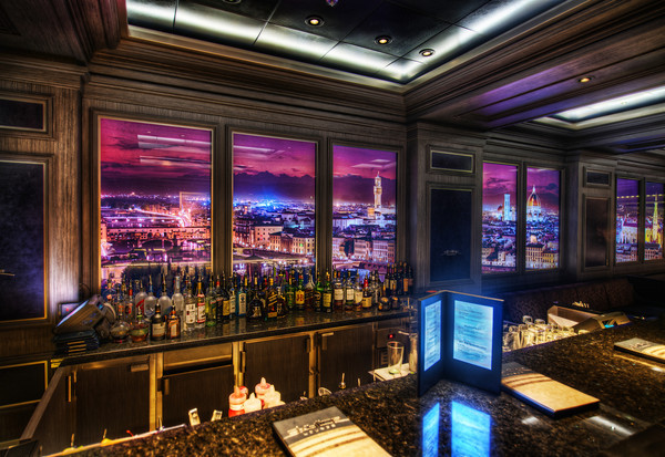 Skyline Bar Disney Cruise Line Dream and Fantasy