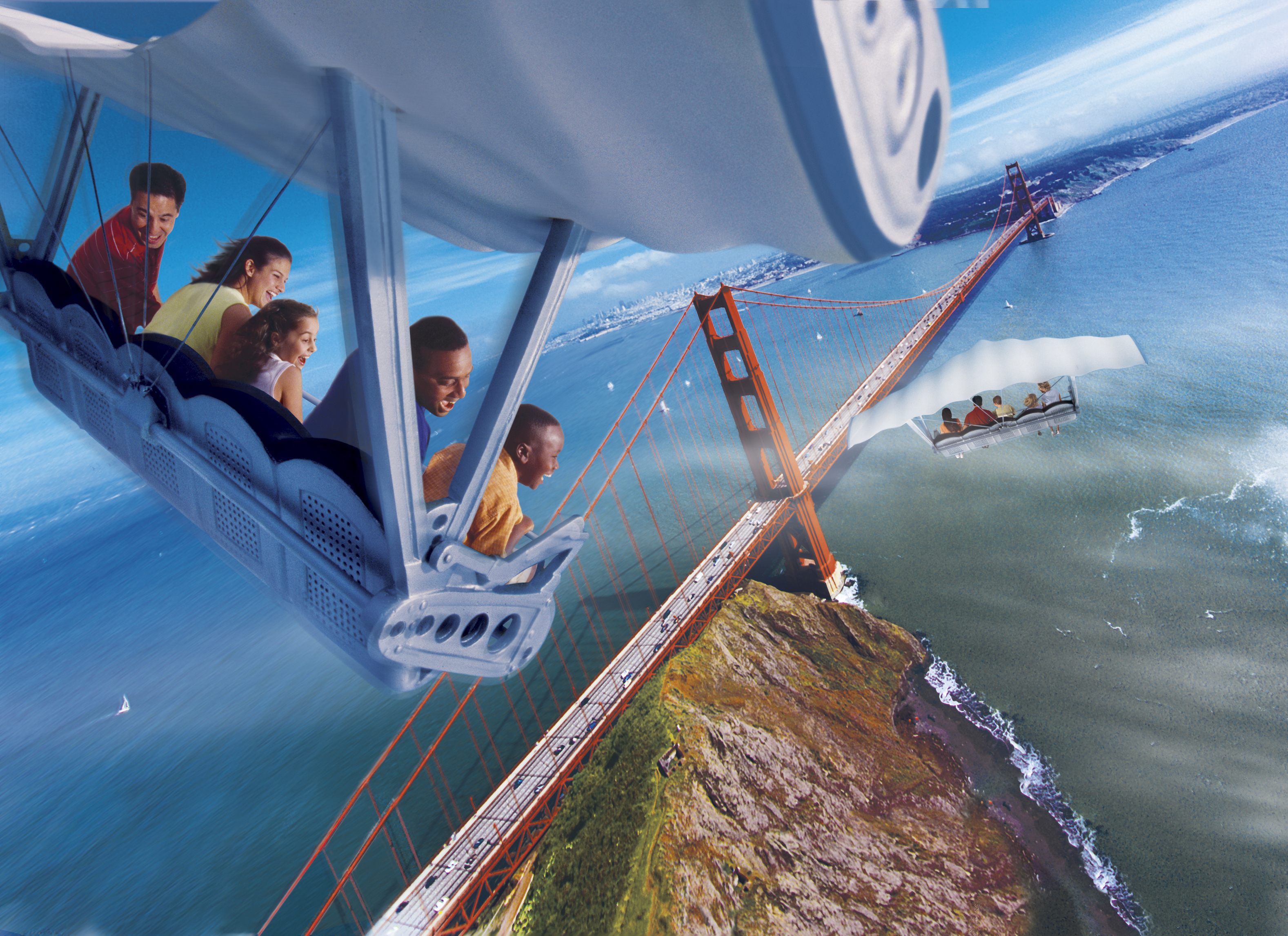 Soarin Over California Epcot