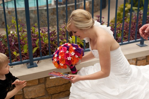 Young Disneyland Guest Mistakes Bride for Disney Princess