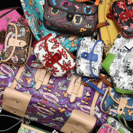 50 One-of-a-Kind Artist Proof Disney Dooney and Bourke Bags to be Sold