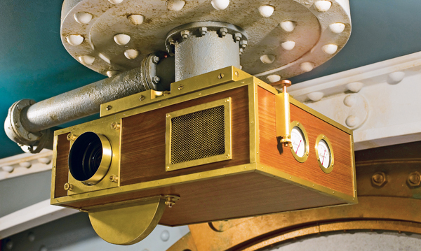 disney 20000 leagues under the sea home theater Nautilus projector
