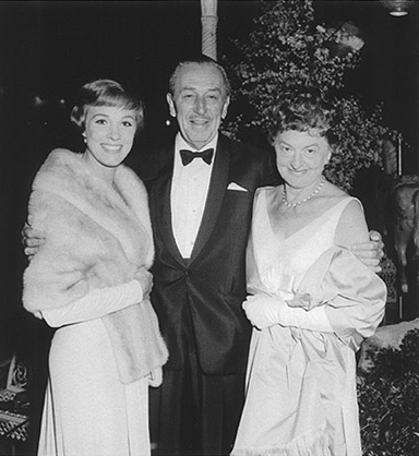 pl travers walt disney julie andrews saving mr banks