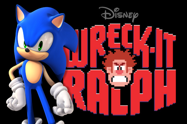sonic and wreck it ralph