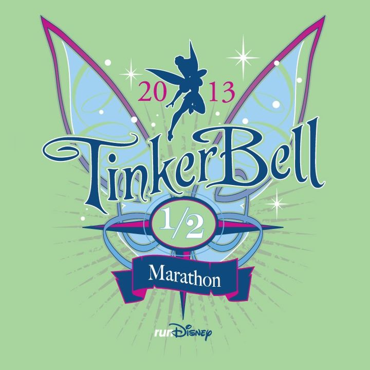 Cast Your Vote for the 2013 Tinker Bell Half Marathon Shirt Design on the runDisney Facebook Page