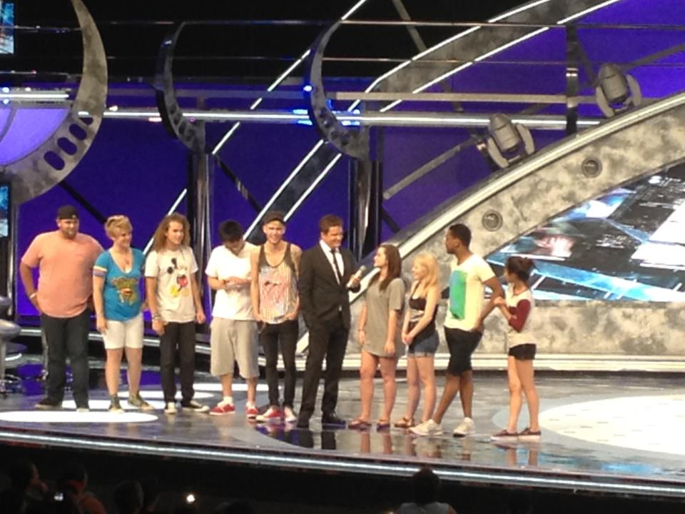 American Idol Finalists at The American Idol Experience
