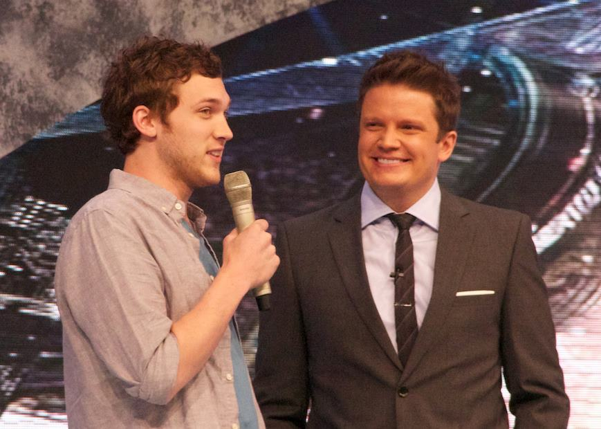 American Idol Winner Phillip Phillips at Disney's Hollywood Studios Today