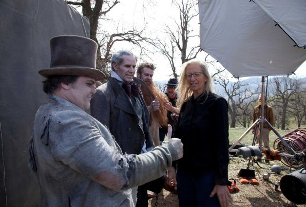 Behind The Scenes Photos From The Recent Annie Liebovitz