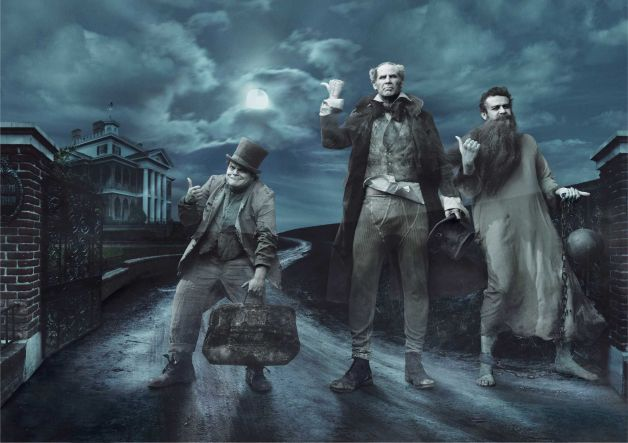 Annie Leibovitz Hitchhiking Ghosts Disney Dream Portraits
