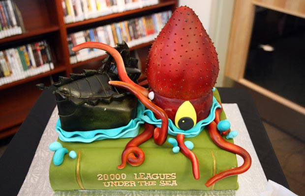 Disney 20,000 Leagues Under the Sea Birthday Cake
