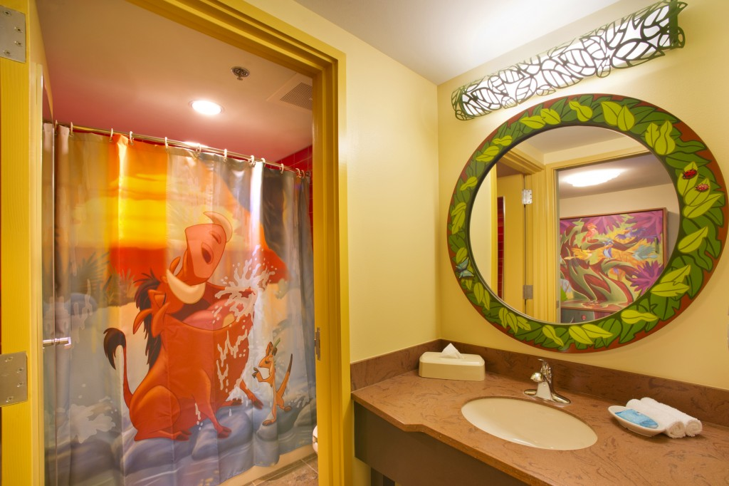 Disney Art of Animation Lion King Wing Bathroom