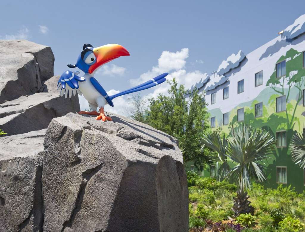 Disney Art of Animation Lion King Wing Zazu