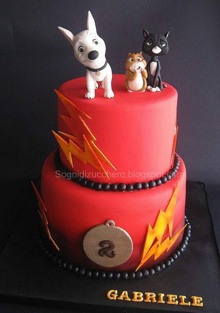 Disney Bolt Birthday Cake