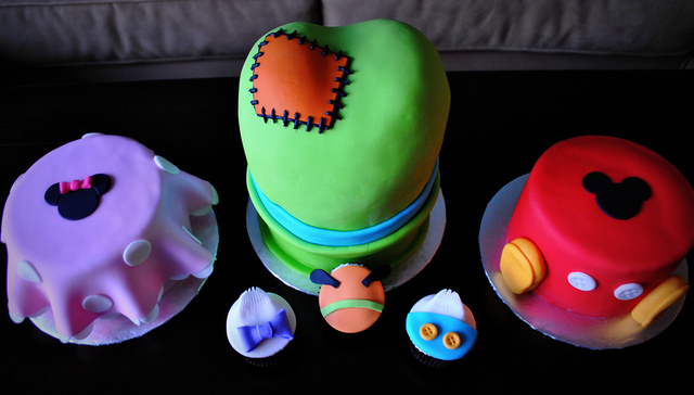 Disney Character Cakes and Cupcakes