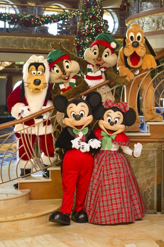 Christmas by the Numbers on the Disney Dream Cruise Ship