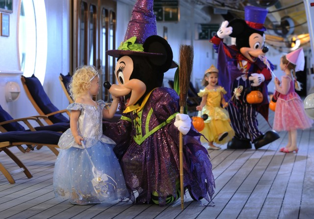 A Frightfully Good Time Awaits Disney Cruise Line Guests this Halloween