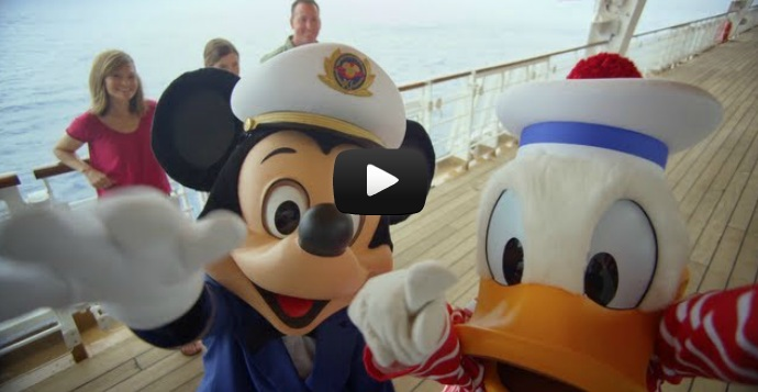 Disney Cruise Line Mickey and Donald