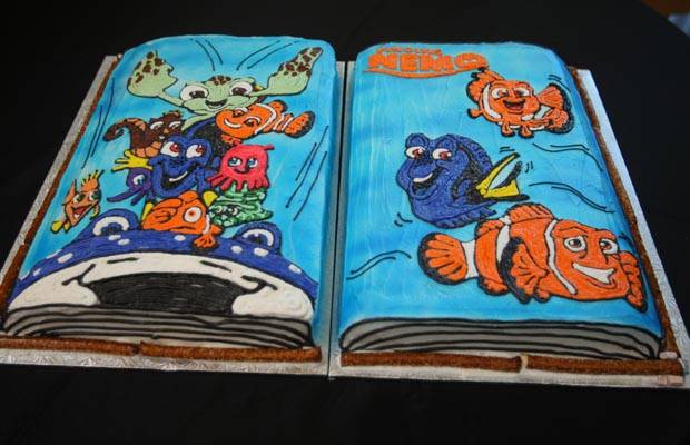 Disney Finding Nemo Character Book Birthday Cake Disney Every Day