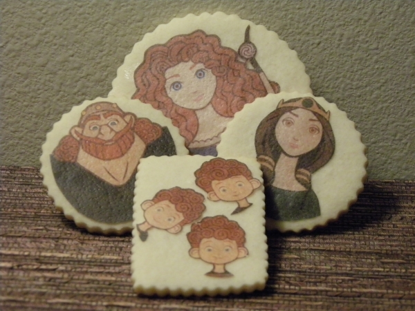 Disney Pixar Brave Family Sugar Cookies