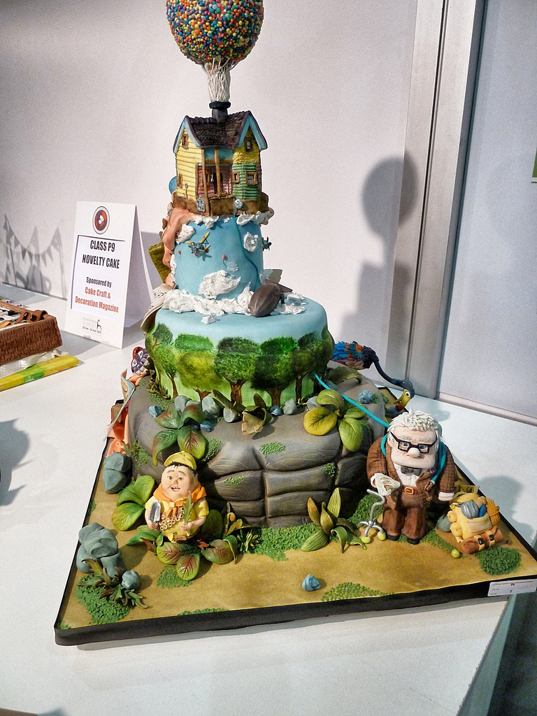 Disney Pixar UP Novelty Cake