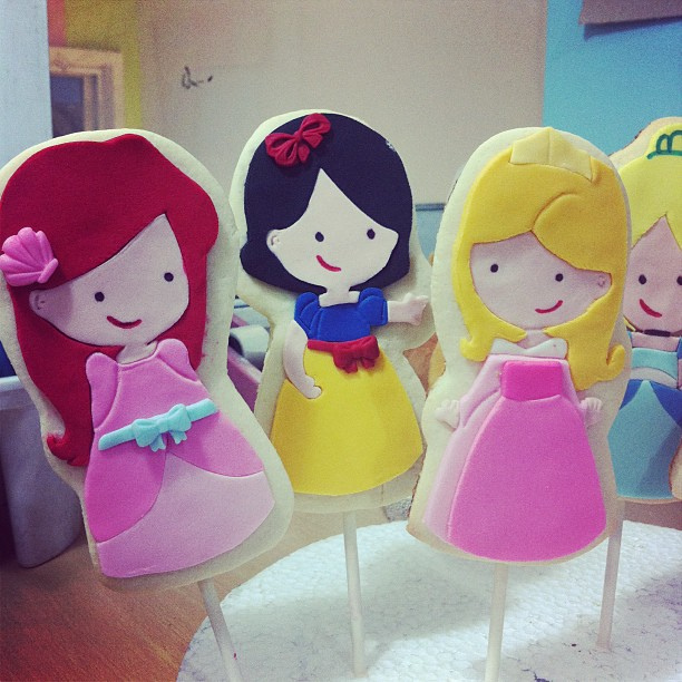Disney Princess Sugar Cookie Pops
