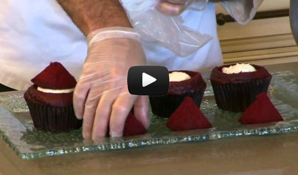 Disney Red Velvet Cupcake Video