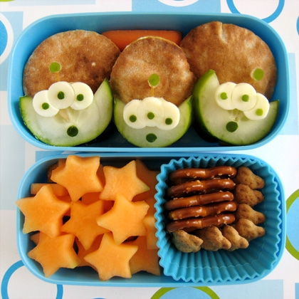 Disney Toy Story Alien School Lunch Bento Box