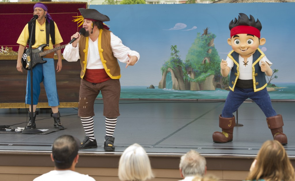 Jake and The Never Land Pirate Band Perform for a Limited Time at Downtown Disney