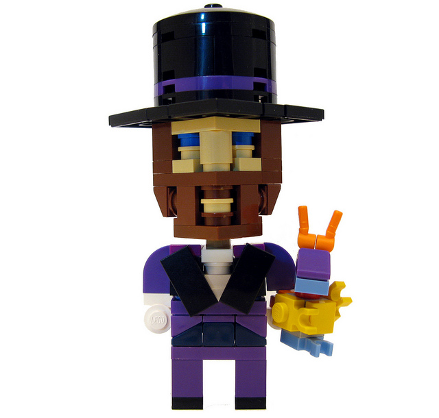 Lego Dreamfinder and Figment