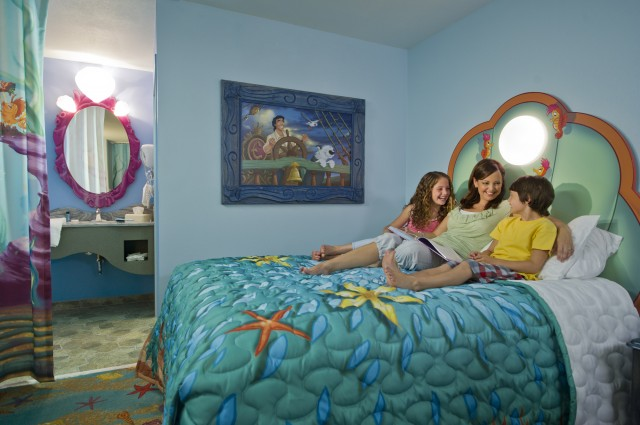 "Final Phase of Disney's Art of Animation Resort ""The Little Mermaid"" Opens September 15th"