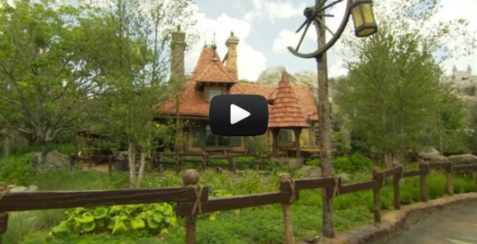 Maurice Cottage Fantasyland Expansion Disney