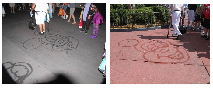 The Secret Behind Walt Disney World's Red Sidewalks