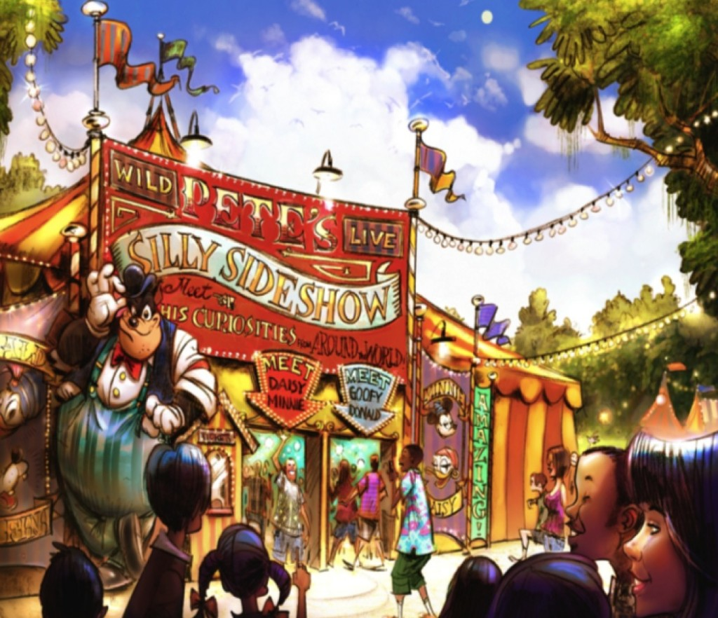 Find Out What Pete's Silly Sideshow will Bring to the New Disney Fantasyland Expansion