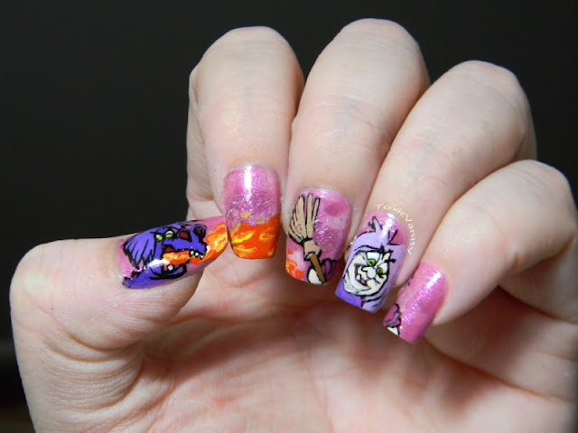 The Sword in the Stone Madam Mim Manicure
