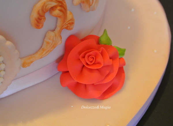 Three Layer Disney Princess Cake Belle