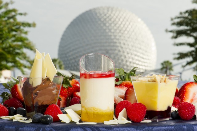 Three New Desserts Debut at the 2012 Epcot International Food and Wine Festival