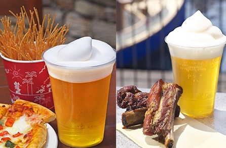 Tokyo Disney Sea ribs beer and fried pasta
