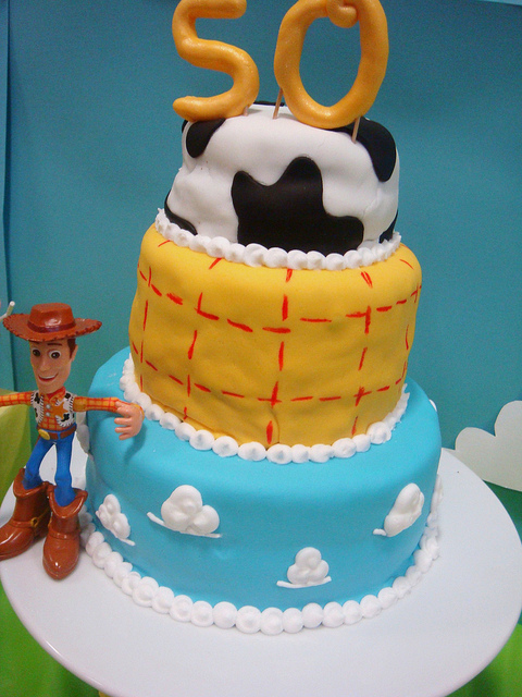 Disney Pixar Toy Story Birthday Party Dessert Table