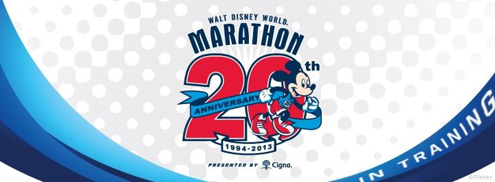 runDisney Facebook Cover Photo for the 2013 Walt Disney World 20th Anniversary Marathon In Training