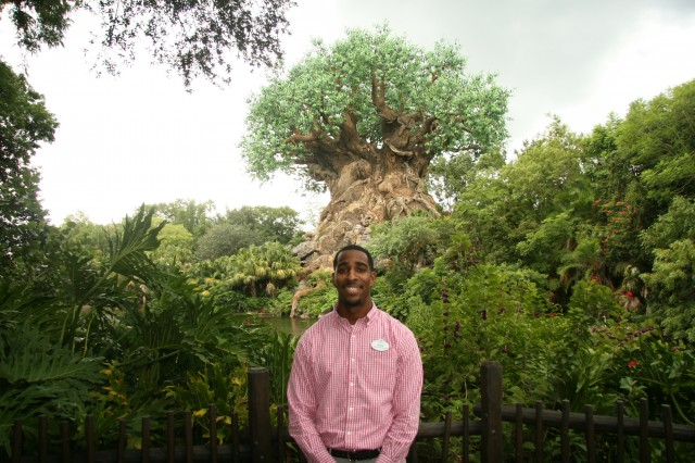 Yusuf Anderson Animal Kingdom Disney