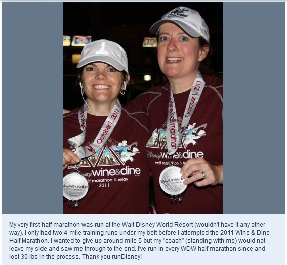 runDisney Memory wine and dine half marathon 2011