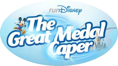 runDisney the great medal caper