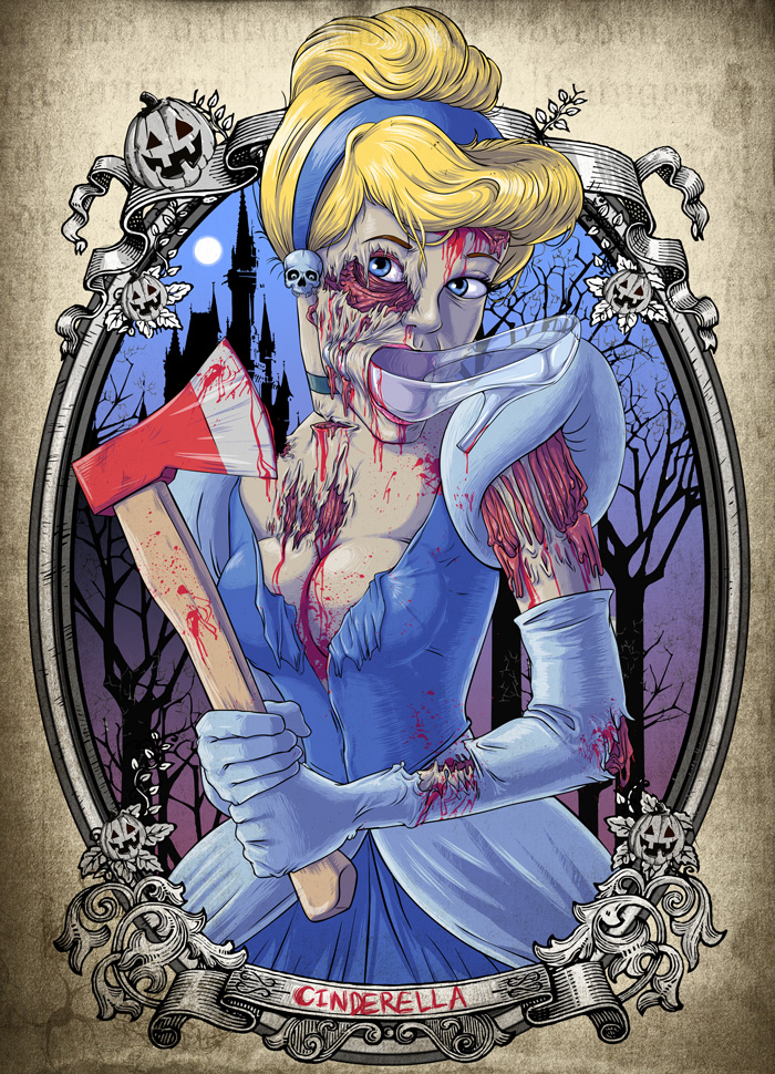 Disney Princess Zombie...