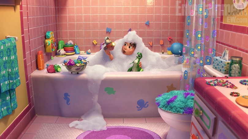 Partysaurus Rex Toy Story Short Bonnie Bath